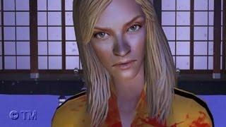 Kill Bill Vol. 1 - The Final Fight Scene [Sims 2] HD