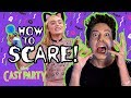 Milo Tries to Scare Meg! | ZOMBIES Cast Party| ZOMBIES | Disney Channel