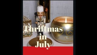 Thriftmas in July #Goodwill #thrift hosted by Nesting Haven