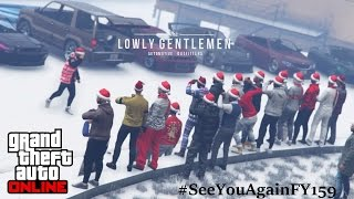 GTA 5 ONLINE | TheLowlyGentlemen Last Night of foreveryoung159 | #SeeYouAgainFY159 | Stance car meet