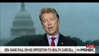 Rand Paul: 'Legalize Inexpensive Insurance'