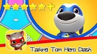 Talking Tom Hero Dash - Day23 Walkthrough Chinatown Recommend index five stars+