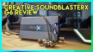 Creative SoundblasterX G6 review: Best Headphone amp for streamers