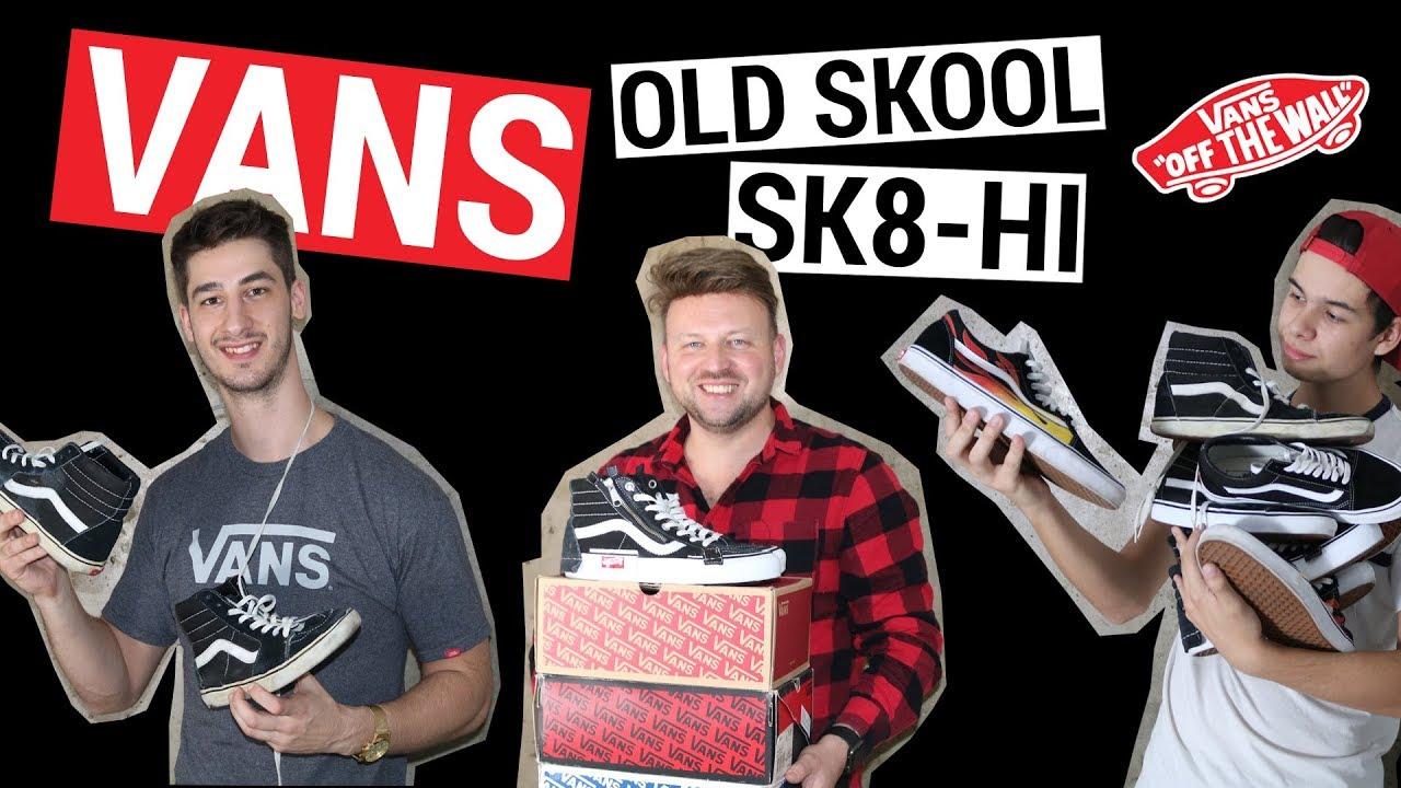 f24581e404 Vans Old Skool és Sk8-Hi - Sneaker Klasszikusok sorozat - YouTube