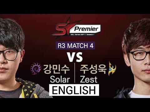 [SSL Premier] 170403 Ro.3 Zest vs Solar Match4