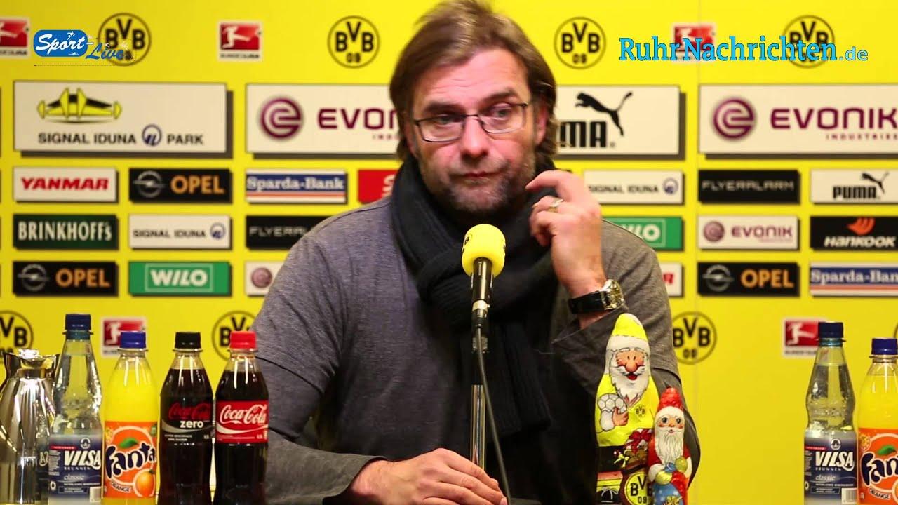 BVB Pressekonferenz vom 6. Dezember 2012 vor dem Spiel Borussia Dortmund gegen VfL Wolfsburg