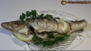 Судак в духовке / Baked fish | Видео Рецепт.