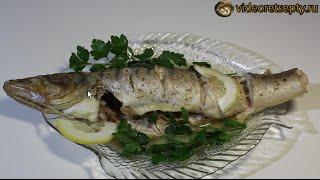 Судак в духовке / Baked fish | Видео Рецепт(Видео рецепт «Судак в духовке» от videoretsepty.ru ПОДПИСЫВАЙТЕСЬ НА КАНАЛ: ..., 2015-05-08T11:47:59.000Z)