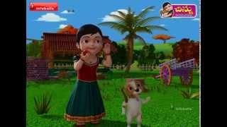 Chilaka Chilaka - Telugu Rhyme 3D Animated