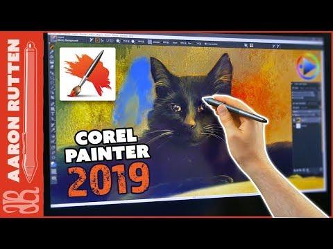 Corel Painter 2019 Tutorial & Review - New Features 🖌