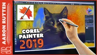 Corel Painter 2019 Tutorial & Review - New Features 🖌