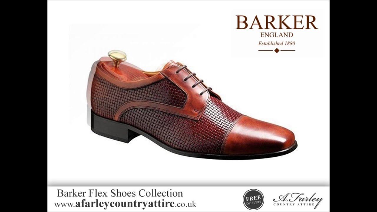 708644f23dc52 Barker Flex Shoes Collection - Shoes Designed For Comfort - YouTube