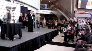 Arizona Rattlers Owner Ron Shurts 2014 Win Speech