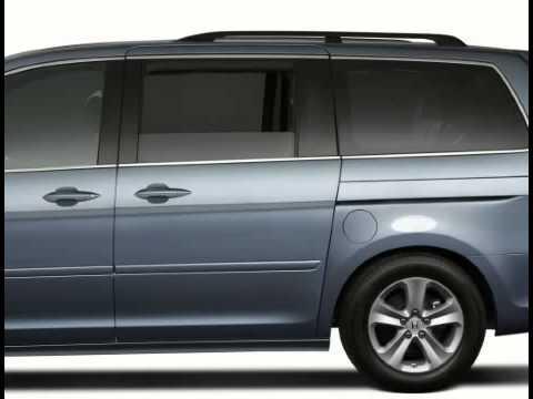 How To Use Rear Sliding Doors In The Honda Odyssey