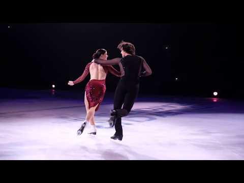 Tessa Virtue and Scott Moir Stars on Ice 2018 (Moulin Rouge)