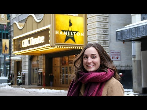 HAMILTON IN CHICAGO \\ VLOG & REVIEW
