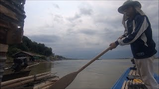Catching fish in thailand - amazing fishing with net fishing