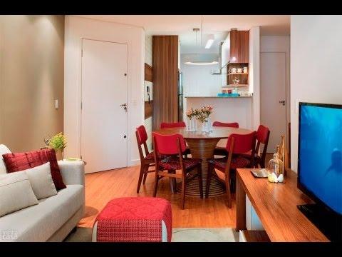 Como fazer a decora o de um apartamento pequeno gastando - Como decorar un apartamento pequeno ...