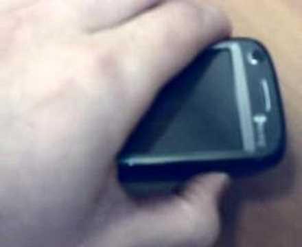 HTC TyTN II / Kaiser (Travamento em standby)