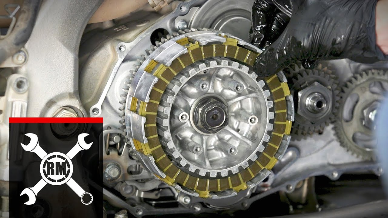 How To Replace The Clutch On A Yamaha Raptor 700 Youtube