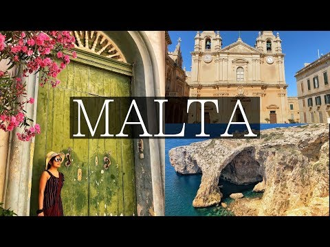 3 Days in MALTA - Valletta, Mdina, Stunning Blue Grotto, 3 Cities