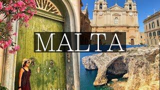 NEW VLOG! 3 Days in MALTA, Valletta, Mdina, Stunning Blue Grotto, 3 Cities | 2018