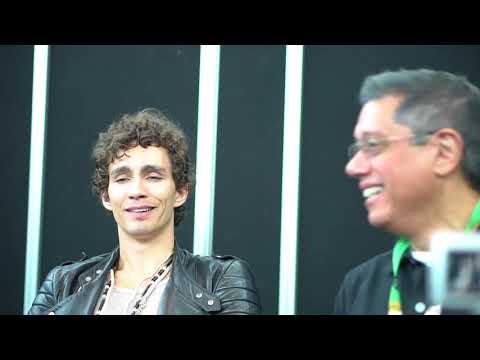 Robert Sheehan and Dean Devlin talk Bad Samaritan at NYCC 2017