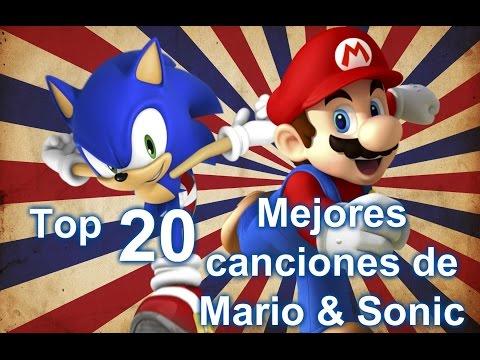Top 20 | Mejores canciones de Mario & Sonic | Gamer Day