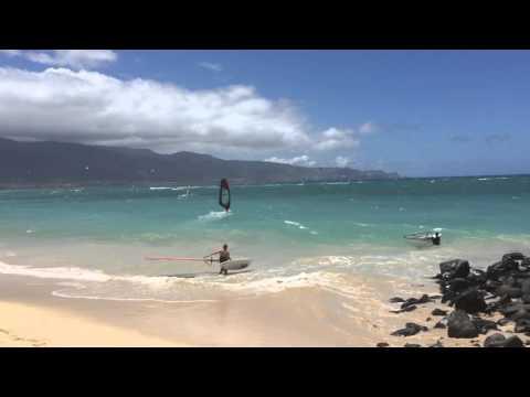 Windsurfing Kanaha Maui