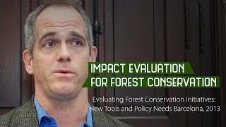 Impact evaluation for forest conservation