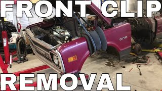 C10 Front Clip Removal - by yourself!