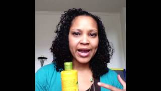 Curly Hair Product Review: Alba Hawaiian Conditioner/Yes to Cucumbers Color Conditioner