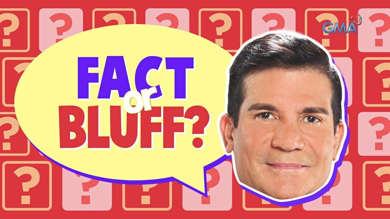 Celebrity Bluff: Fact or Bluff about Edu Manzano
