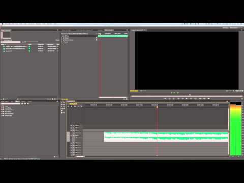 Premiere Pro - Seamlessly Cut An Audio Track Down