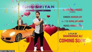Ghooriyan (motion poster) harsun jot feat aman hundal | white hill music | releasing on 22 october