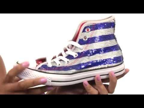 Converse Chuck Taylor® All Star® Sequin Flag Hi  SKU:8545805