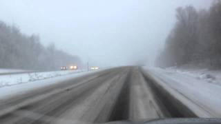 Winter Returns To Vermont, January 13, 2012