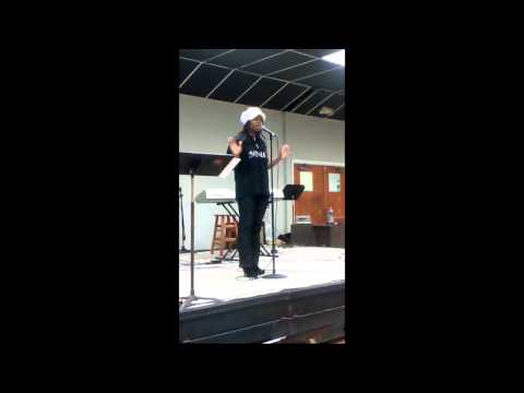 Jesus is for everybody Danyelle of Denoted Poetry Ministries