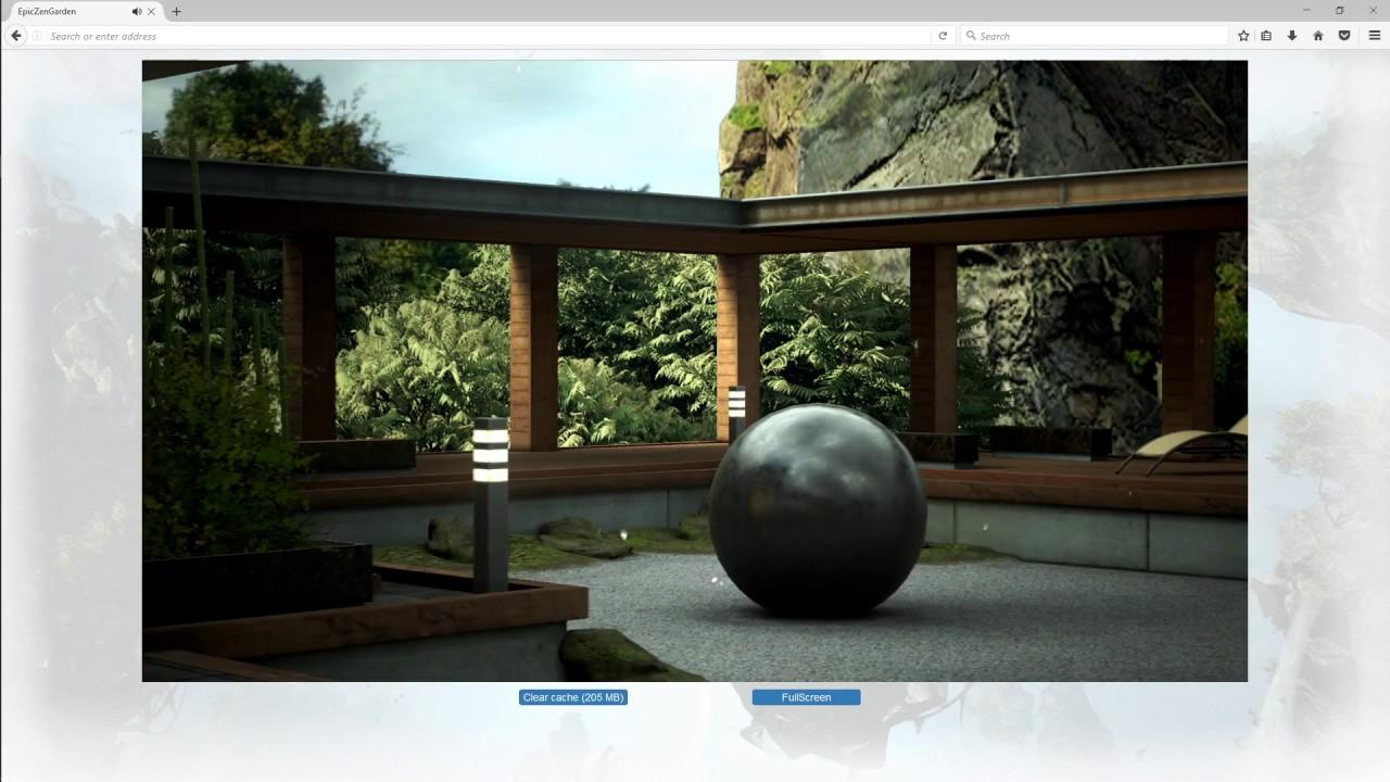 WebAssembly Demo: Zen Garden (Epic)