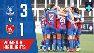 First home win for Eagles | Palace Women beat Coventry
