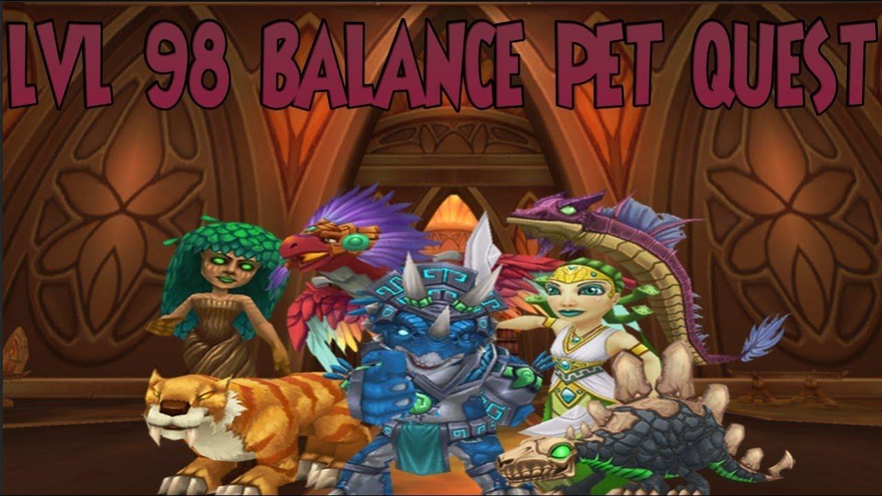 Wizard101: 98 Balance Pet Quest