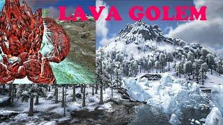 ARK survival evolved PREPARING FOR THE LAVA GOLEM BOSS FIGHT, RAGNAROK