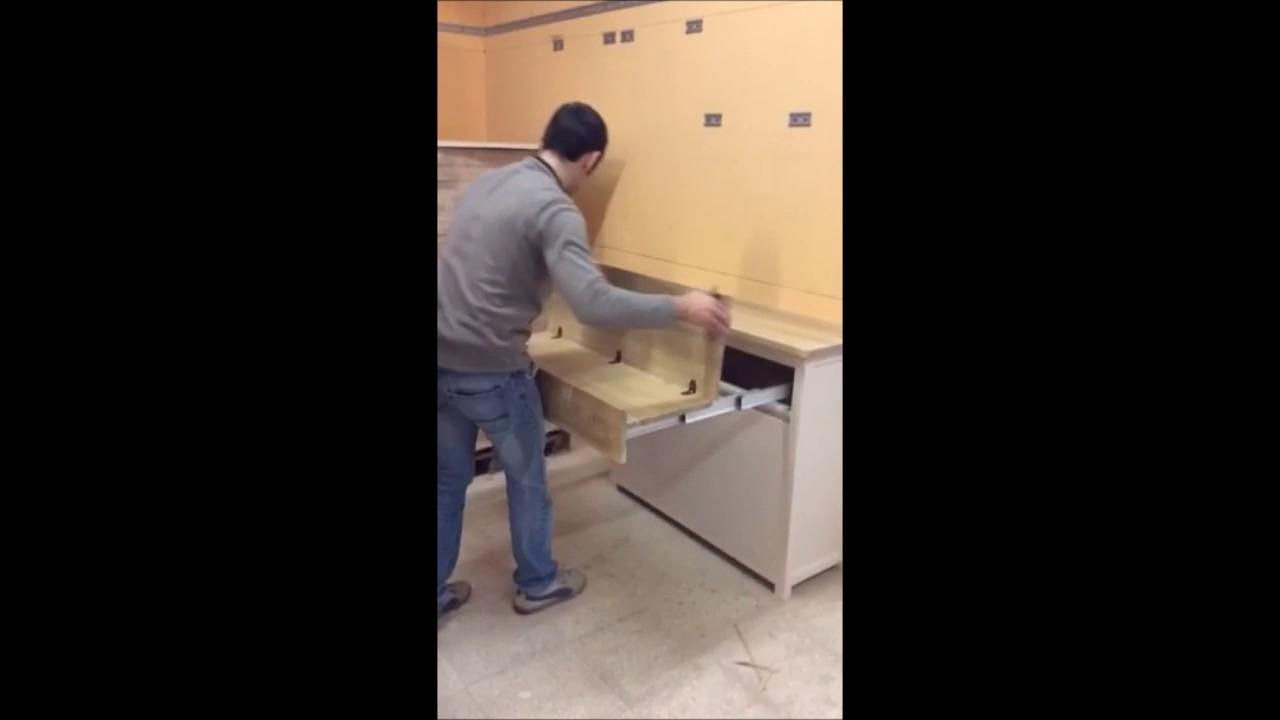 Credenza Con Tavolo Incorporato : Credenza tavolo a scomparsa mercantini posot class