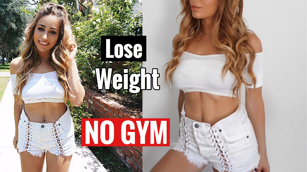 How lose weight without gym