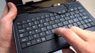 "Чехол клавиатура для планшета 7"", с AliExpress"