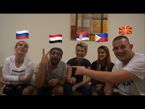 PRONUNCIATION DIFFERENCES Part 2 (Macedonia. Philippines,Serbia, Egypt And Russia)