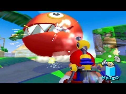 Super Mario Sunshine 100% Walkthrough - Part 12 - Pianta Village Shine Sprites