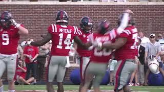 Ole Miss Football - Vanderbilt Highlights (10-14-17(