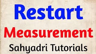 MHT-CET | Restart Measurments