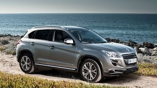 Peugeot. - Peugeot 4008. SUV. Review and Test Drive - New 2017